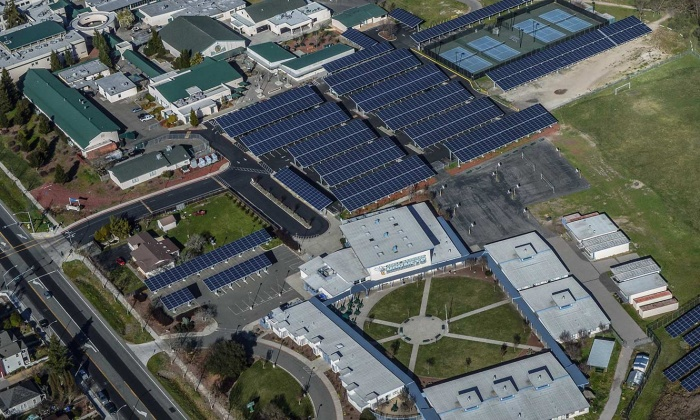 QKA Sonoma Valley Union School District Solar Sonoma Valley High School
