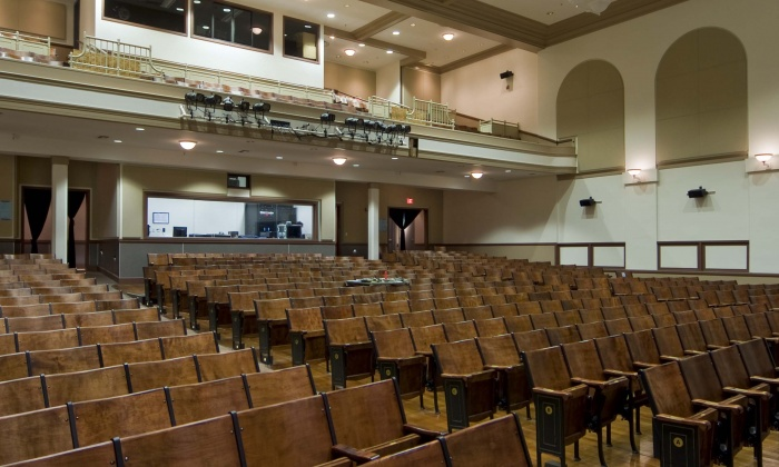QKA Burlingame High School Theater Interior