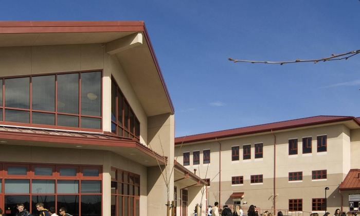 QKA Monte Vista High School Commons Exterior