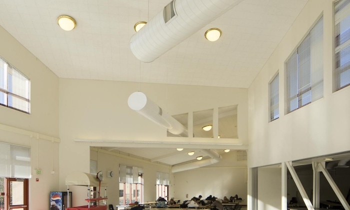 QKA Monte Vista High School Commons Interior