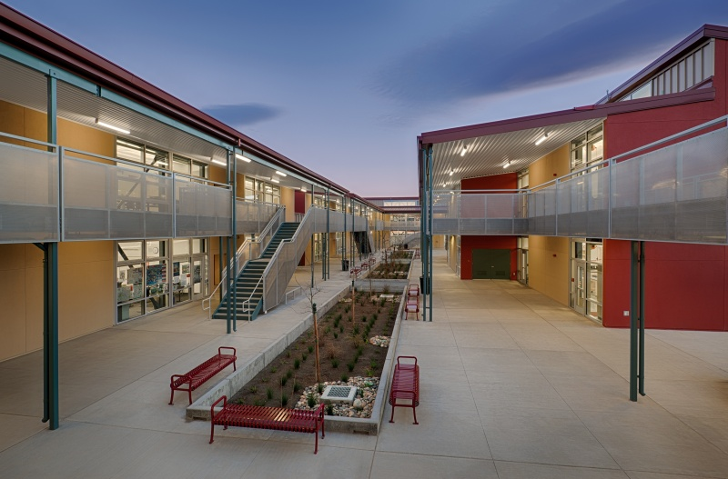 Cupertino High School Folia Complex Classroom Buildings