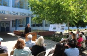 Mark Quattrocchi Speaks at Ceremony